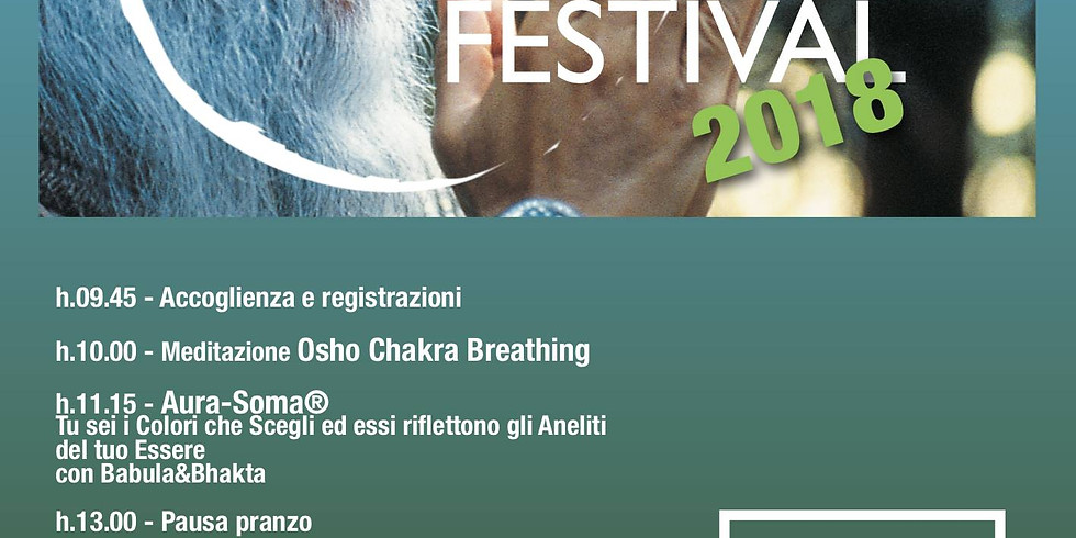BACK TO SHUNYATA FESTIVAL Milano
