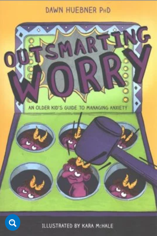 I am super excited to tell you about an AWESOME book I just read called Outsmarting Worry, by Dawn Huebner.  I LOVE it because it's… Easy to read as a parent SUPER kid friendly, and fun for them to read too (approx. 9-13 years old). #AnitaNess @EMBRACECalmerKids.com.au