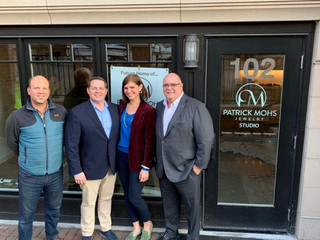 Bill Wolfson Commercial helps Patrick Mohs Jewelry find a new home in Wayzata!