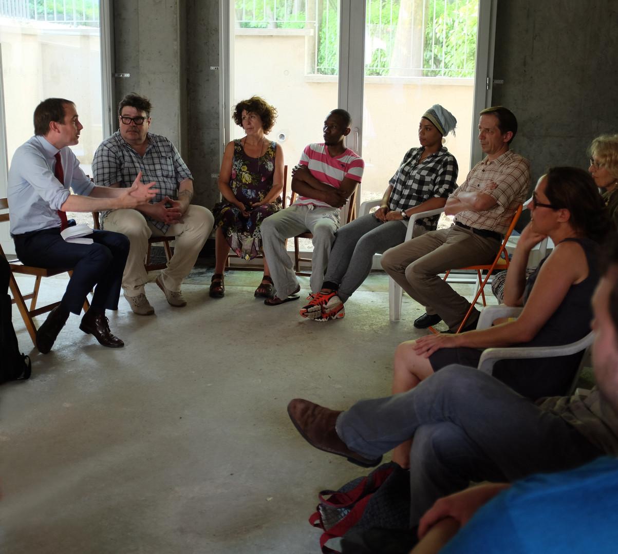 Rencontre avec le maire de Montreuil au CUB