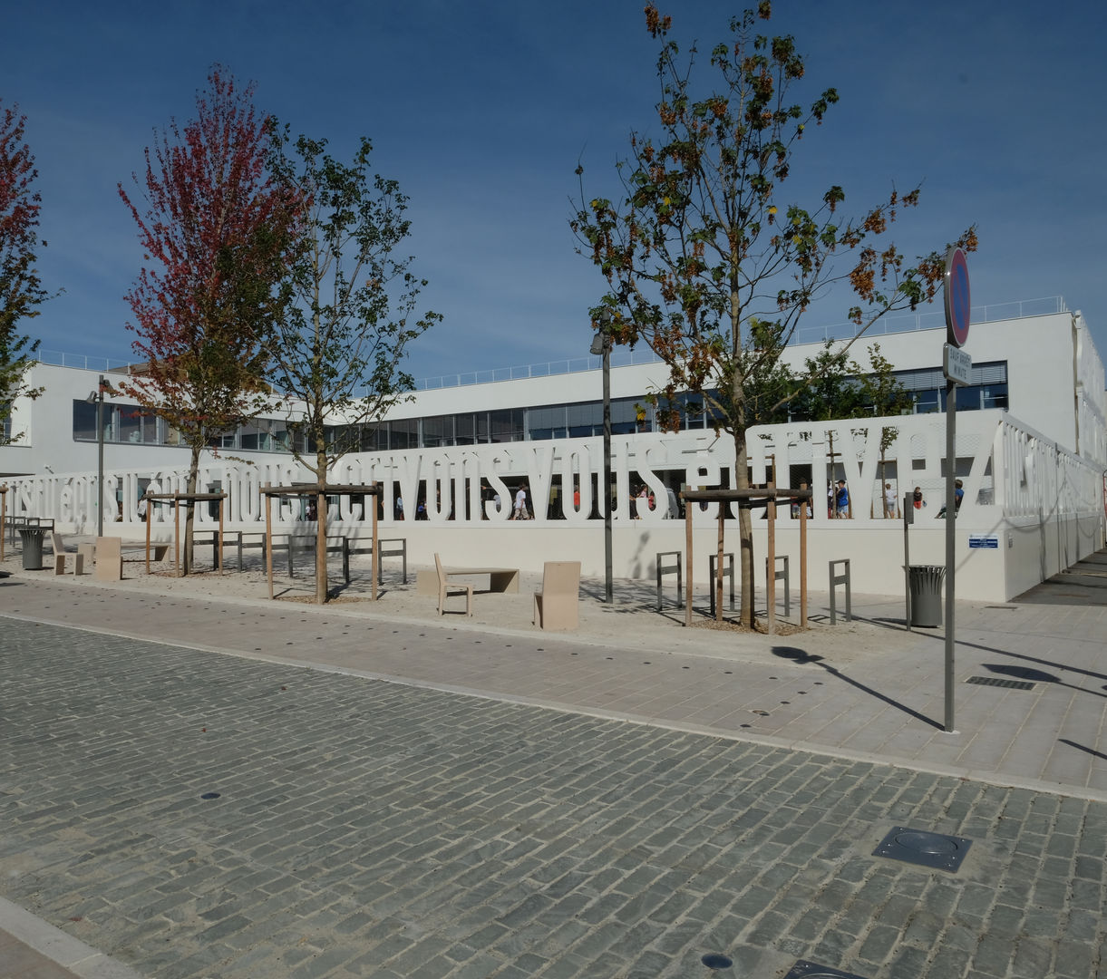 Groupe scolaire Jacqueline de Romilly - toa architectes associés