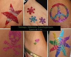 tatouage ephemere enfant