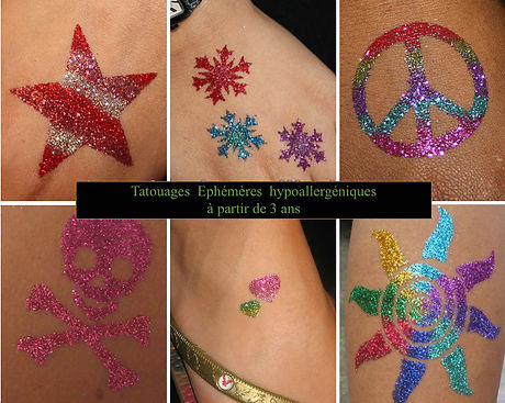 tatouage éphémère enfant