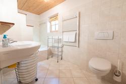 Bathroom downstairs (toilet 1/3)