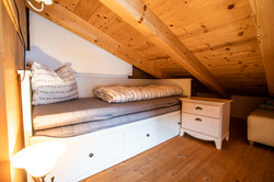 Spare double bed in the attic (6)