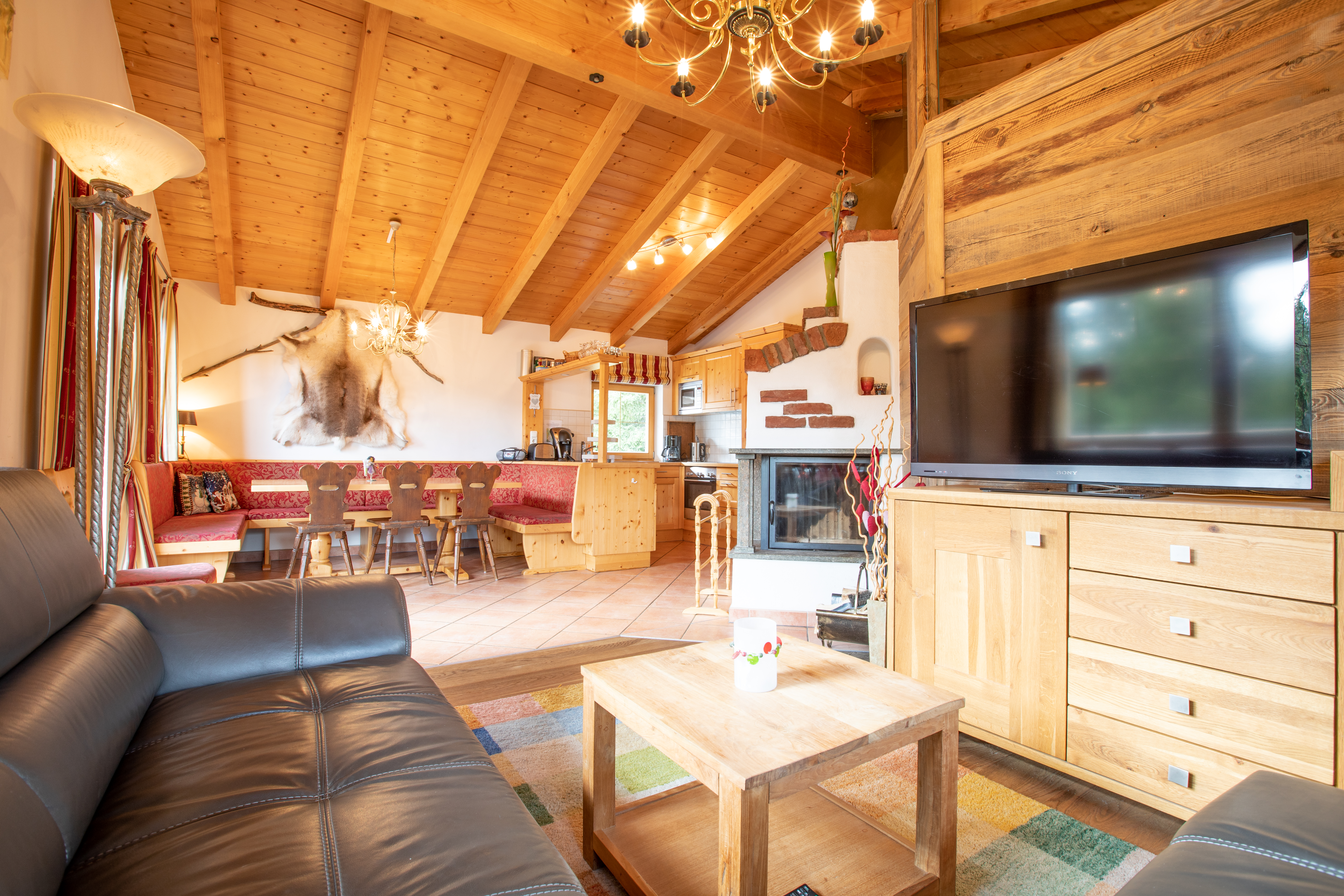 Livingroom & dining corner