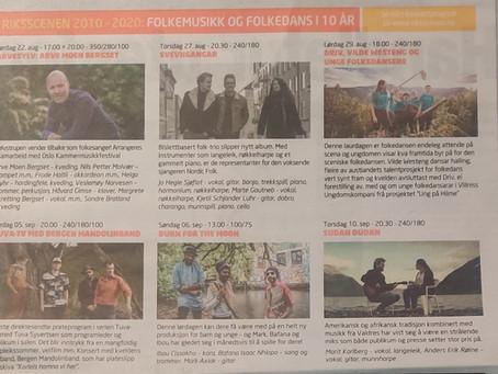Bilde i Dagsavisen 15 Aug.