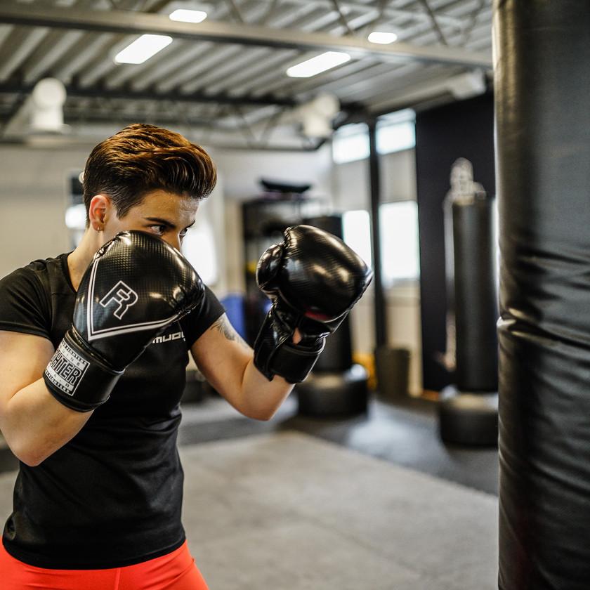 Boxing på Mudo Gym