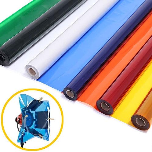 """Professional 40*50cm 15.7*19.6"""" Paper Gels Color Filter for Stage Lighting"""