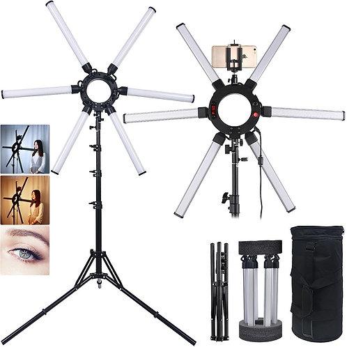 Photography Light 6 Tubes 672Pcs LED