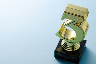 number-three-gold-trophy-for-a-runner-up