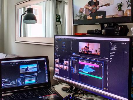 Musikkvideo til Skyskraper Artist