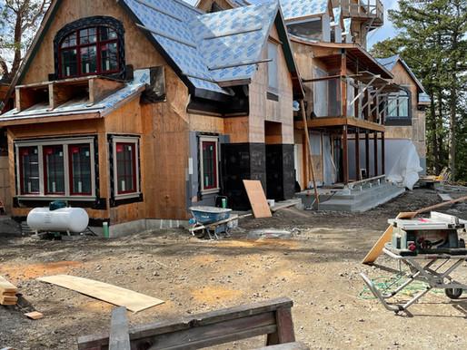 Building New Custom Construction on San Juan Island