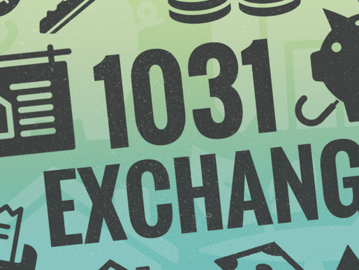 IRS SECTION 1031 – TAX DEFERRED EXCHANGE