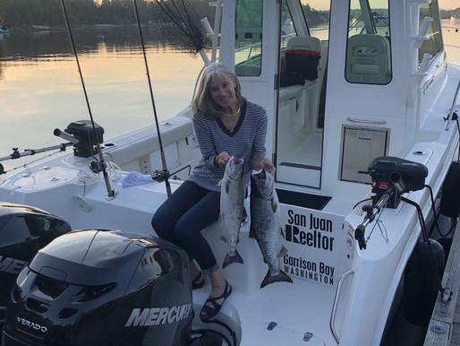 Boating in the San Juan Islands Video