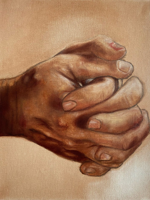 Praying Hands - Study