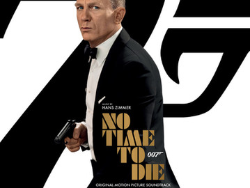 No Time to Die Score on CD & Vinyl