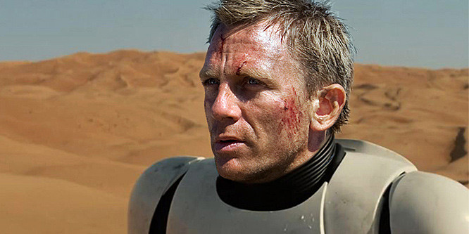 Daniel Craig famously had a cameo as a Stormtrooper in Star Wars Force Awakens