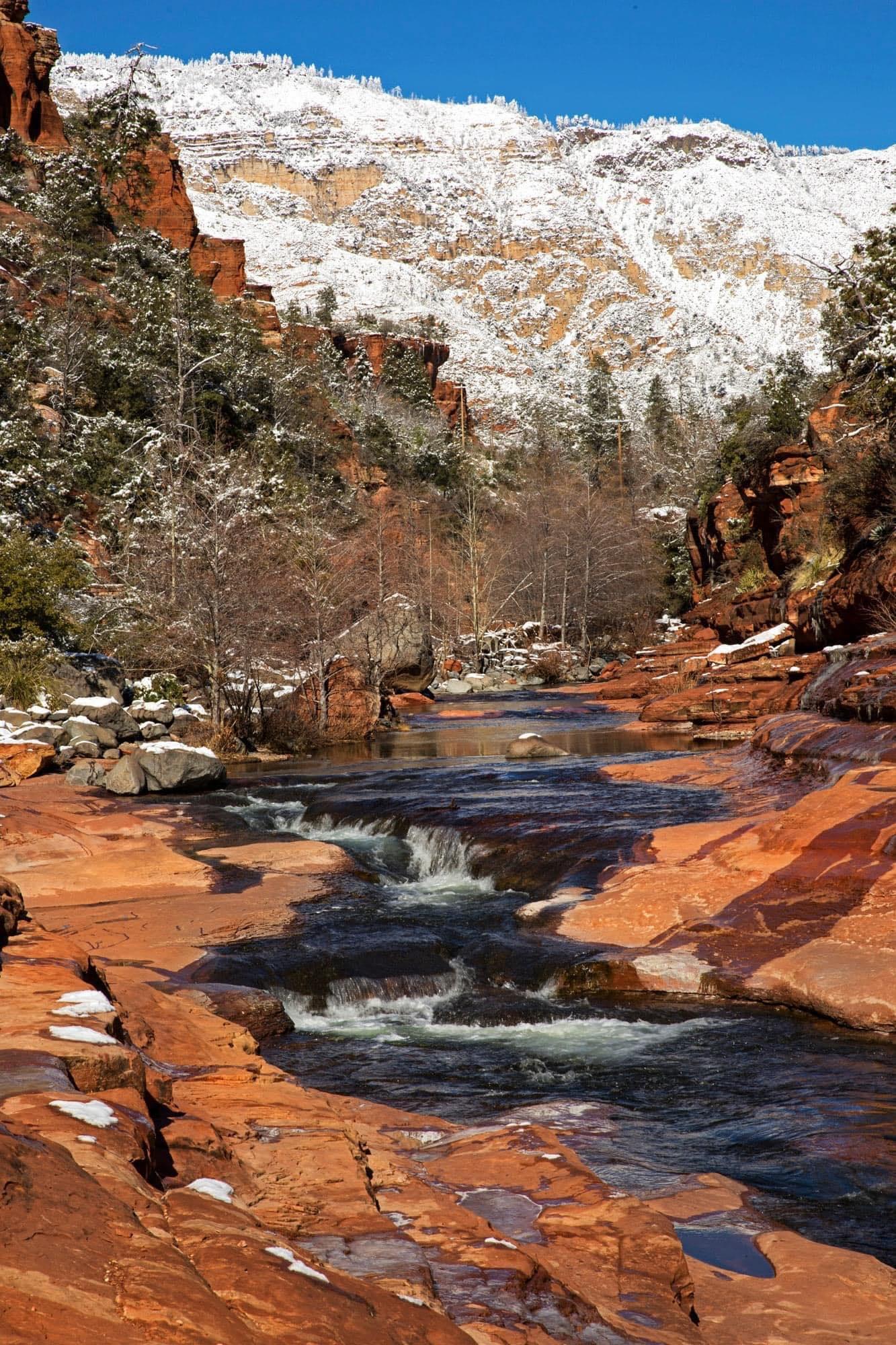 winter in oak creek