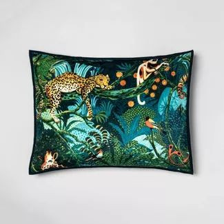Tropical-inspired pillow from Target