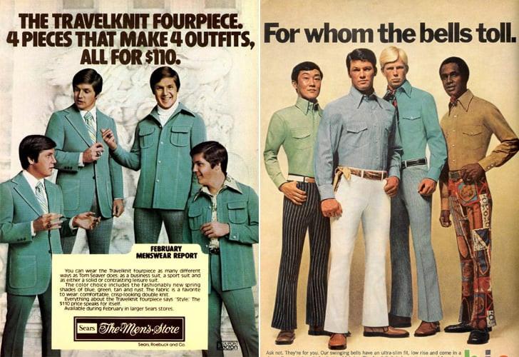 1970's men's fashions