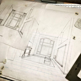 Going old school with pencil and paper