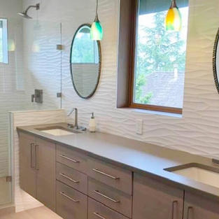 Contemporary Seattle Bathroom Renovation