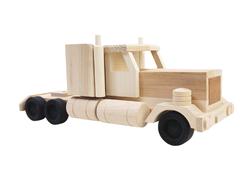 Wooden Semitrailer
