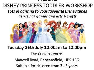 Princess Toddler Workshop