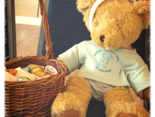 Melody Bear's Easter Egg Hunt!