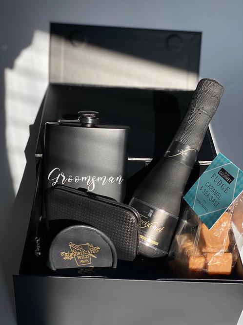 Personalised Groom Gift Box, Gift for Groom, Groomsman Gifts, Wedding Day Groom