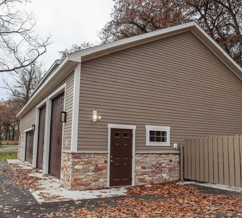 Holiday Home Maintenance Building