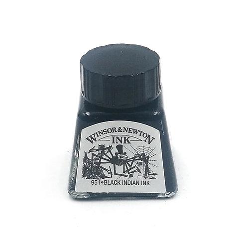 דיו קליגרפי   Winsor & Newton 14ml  BLACK
