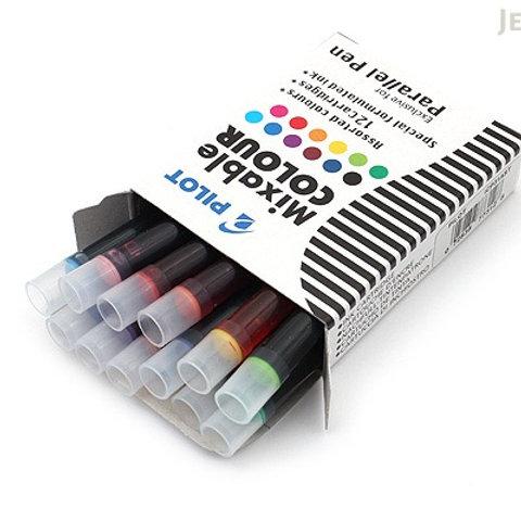 דיו לעט פרלל - 12 צבעים שונים