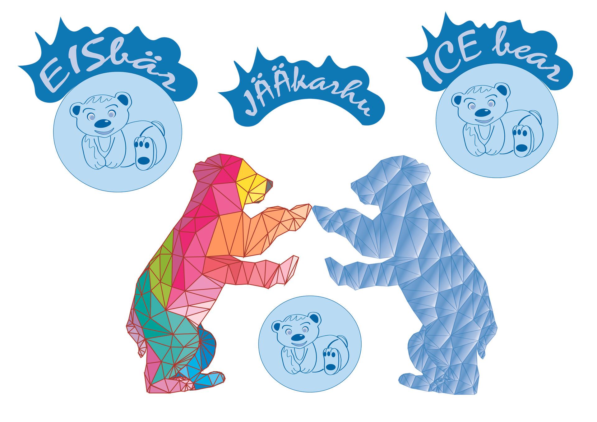 Logo - Ice bear
