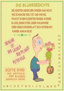 Bie Blumengedichte