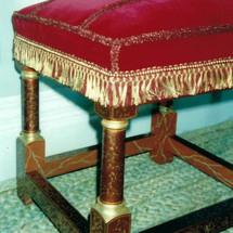 QH gilded & deco'd stool.jpg