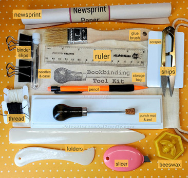 Bookbinding Deluxe Tool Kit