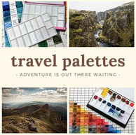 Travel Watercolor Palette