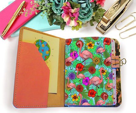 Flamingo doodle dashboard