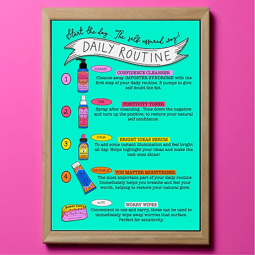 Self Care Daily Routine