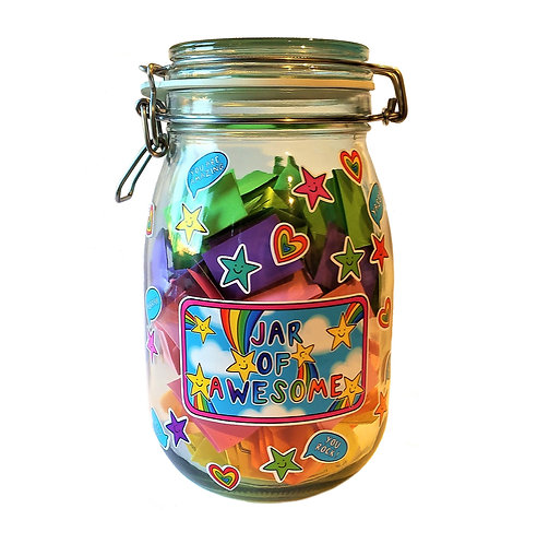 A Jar Of Awesome starter kit