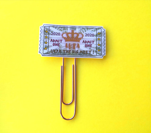 UKPA admit one paperclip