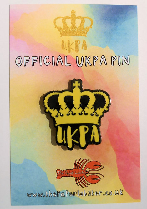 Official UKPA pin