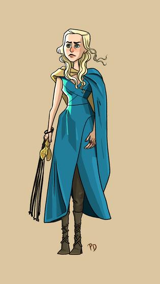 Daenerys Character Design