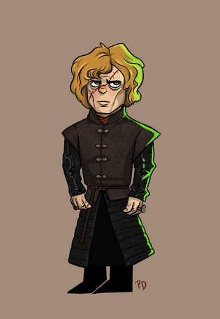 Tyrion Character Design