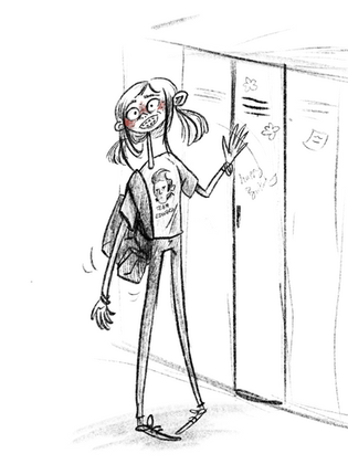 Middle School Girl