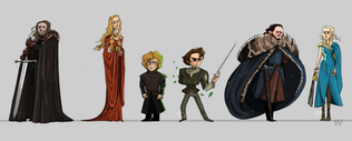 Game of Thrones Character Design
