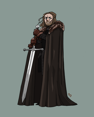 Ned Character Design