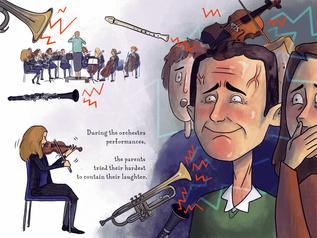 Dunottar Book, Orchestra